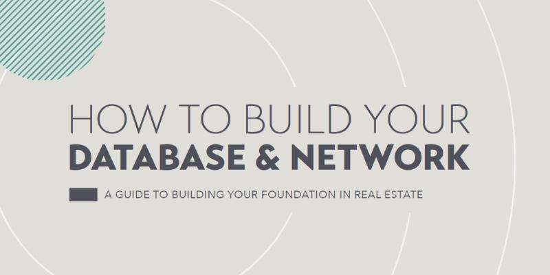 How to Build Your Database and Network